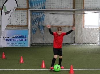 Differenzielles Lernen Fußball, Soccerkinetics, Techniktraining