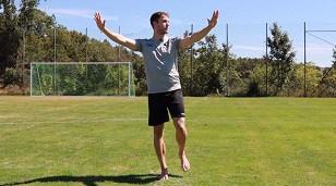 Gleichgewichtstraining Soccerkinetics Fußball